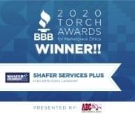 Better Business Bureau Award
