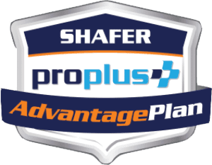 Shafer ProPlus Advantage Badge